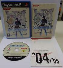 Console Gioco Game SONY Playstation 2 PS2 PAL Play ITALIANO SUIKODEN IV 4 Konami