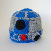 Star Wars R2D2 Costume Baby Hat For Girl Boy Cosplay Outfit Halloween Costume