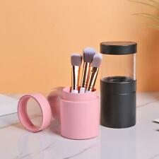 MAKE UP BRUSH STORAGE BUCKET PENS/PENCILS HOLDER POTS DESKTOP ORGANIZER BOX