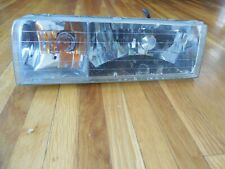 VINTAGE 1995-1997 Lincoln Town Car LEFT Headlamp,Headlight,Clear,W/Mounts