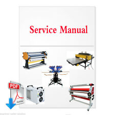 PDF File for Machine, water chiller, laser cutter, screen printing