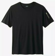 NWT - MVP COLLECTIONS Men's 'CARGO POCKET' Black S/S T-SHIRT - 5XL