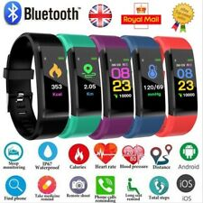 Fitness Smart Watch Band Sport Activity Tracker For Kids Fit#bit Android iOS UK