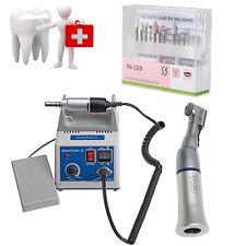 Dental Lab MARATHON micromotore 35K RPM contrangolo manipolo + Drills Frese BGP