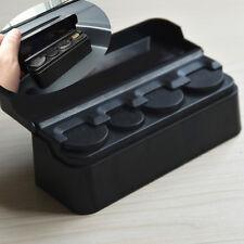 Car Coins Case Loose change Storage Box Wallet Piggy Bank Holder Organizer Black