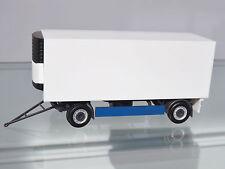 Herpa 076777 H0 1:87 Remorques frigorifiques 2 essieux, bleu/blanc