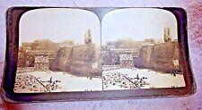 STEREOVIEW PHOTO PALESTINE CHURCH OF THE NATIVITY BETHLEHEM 1904