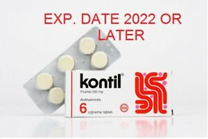 PYRANTEL PAMOATE KONTIL 6 CHEWABLE TABLETS FOR PARASITE
