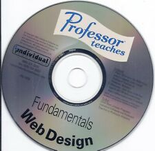 Professor Teaches Fundamentals Web Design Cd