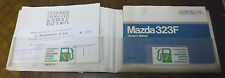 Mazda 323F Owners Handbook/Manual and Wallet 94-98