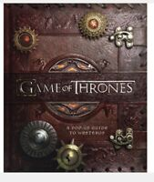 GAME OF THRONES 3D POP UP GUIDE TO WESTEROS DELUXE EDITION BOOK Xmas Gift 🎁