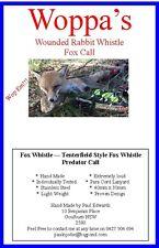 Predator call - Tenterfield Style Fox Whistle -Fox Call
