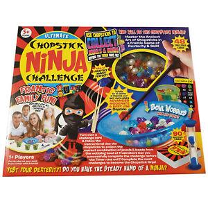 Chopstick Ninja Challenge Board Game Family Fun Skill Adult Kids Childrens Gift