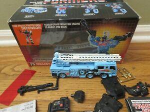 Vintage TRANSFORMERS G1 Protectobots DEFENSOR Hot Spot w/ Instructions EB