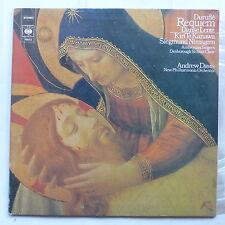 DURUFLE Requiem AMBROSIAN SINGERS ANDREW DAVIS CBS 76633