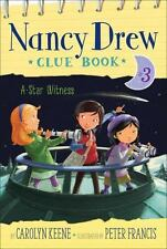 A Star Witness (Nancy Drew Clue Book)-ExLibrary