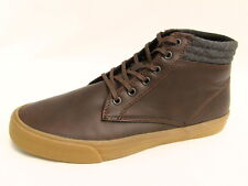 Mossimo Supply Chukka Ankle Boots New Brown Mens Sz 7 Bonded Leather