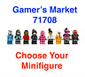 LEGO Ninjago Gamer's Market Minifigures - Unassembled Includes Accessories 71708