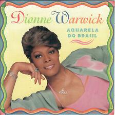 Aquarela do Brasil by Dionne Warwick (CD 1994 Arista) Heart of Brazil/Portuguese