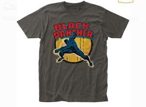Marvel Comics Black Panther  T-shirt Size Large L New