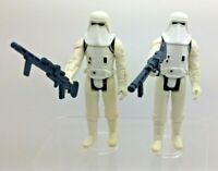 x 2 Vintage Star Wars Hoth Stormtroopers 1980 Both Raised Bar China