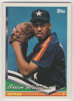 1994 Topps Baseball Houston Astros Team Set