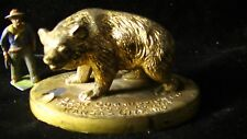 A,W. Bear Commission Co. Advertising BEAR PAPERWEIGHT #294