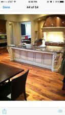 COMPLETE CUSTOM KITCHEN CABINETS APPLIANCES 2 ISLANDS BAR/OFFICE