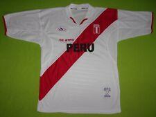 Peru National Soccer Jersey Dembers Adult Mens Size Medium / Large