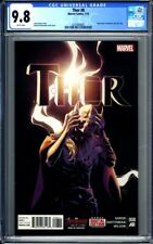 THOR #8 - CGC 9.8 Jane Foster revealed as Thor - Jason Aaron Dauterman 7/15