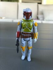 Vintage 1979 Star Wars Boba Fett Action Figure With Blaster