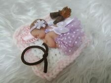 Polymer Clay Miniature Ooak Baby, Cassidy