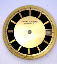 NOS New Antique  GIRARD PERREGAUX Gyromatic Round Watch Dial Face Swiss #W400
