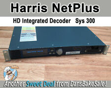 Used Harris Net Plus High Definition Integrated Decoder Model 300