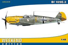 eduard Me Bf 109E-3 Giallo 1 Josef Pepe 6 JG 51 Modello kit 1:48 109 E kit
