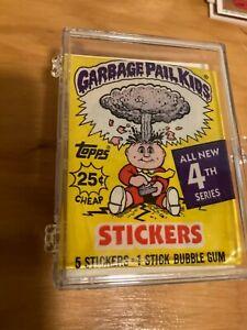 1980s Garbage Pail Kids 4th series complete set NMT