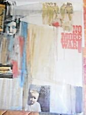 Anti-War  No More War  Yanker Poster 1965 hand signed by artist Marilyn Kaplan