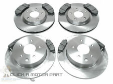 FOR NISSAN QASHQAI 1.6 1.5 DCi 2.0 FRONT & REAR BRAKE DISCS & PADS CHECK SIZE