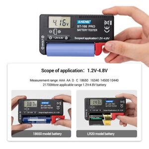 BT168 PRO Analog Battery Tester Button Cell Battery Volt Power Measure Checker