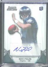 2012 Bowman Sterling Rookie Autograph #57 Nick Foles