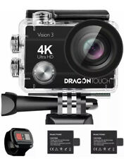 Professional Touch Action 4K Camera 16MP Waterproof 170° Angle WiFi & Remote New