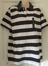 MENS GAP POLO SHIRT STRIPES SIZE L   BNWT
