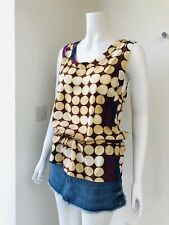 Marni For H&M Top Silk size 10 Uk 36 Eu 6 Us Limited Edition New Backless
