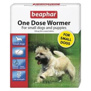 Beaphar One Dose Wormer Tablet Worming for Small Dogs & puppies (3 tablet pack)