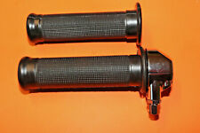 "CLASSIC 1"" THROTTLE METAL TUBE TWIST GRIP SET BSA NORTON AJS MATCHLESS"