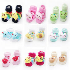 CHAUSSONS BEBE CHAUSSURES CHAUSSETTES ANTIDERAPANTES FILLE GARCON 0 à 6 MOIS