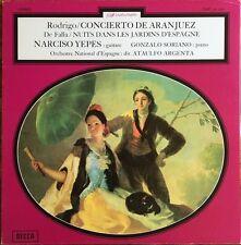 Rodrigo, Concierto De Aranjuez  - De Falla, Nuits Dans Les Jardins D'Espagne LP