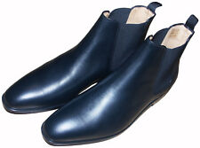 PAUL SMITH BLACK LEATHER SHOES / BOOTS BRAND NEW BOXED RARE SZ:UK8.5 / EU42.5