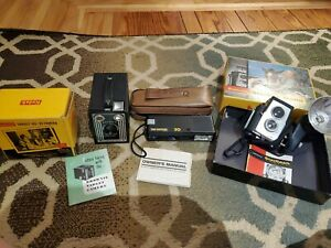 lot of 3 cameras - Vintage Kodak, Fun Shooter Brownie, Starflex