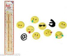 FMM Expression Icon Emoji Emoticons Cutter Set Sugarcraft Cake Decorating